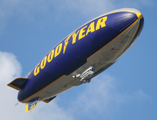 Look up, it's GoodYear!