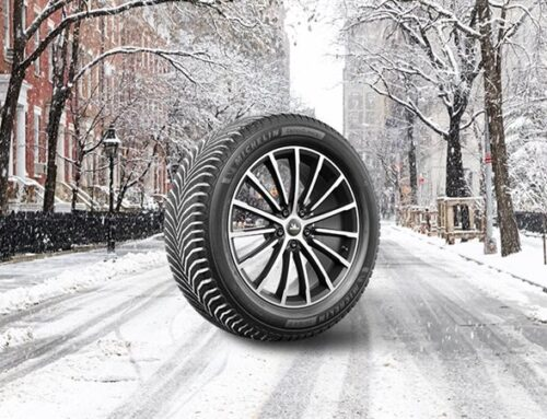 Look, it's the new Michelin CrossClimate2!